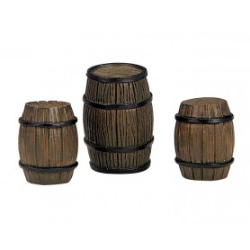 LEMAX BARRELS, SET OF 3