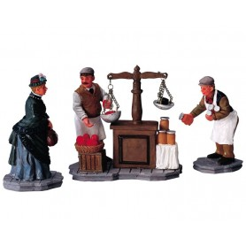 LEMAX AT THE MARKET, SET OF 3