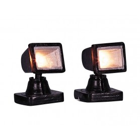 LEMAX SPOT LIGHT- CLEAR, SET OF 2