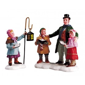 LEMAX CAROLERS QUARTET, SET OF 2