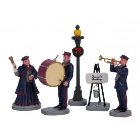 LEMAX CHRISTMAS BAND, SET OF 5