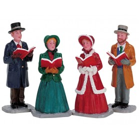 LEMAX CHRISTMAS HARMONY, SET OF 4