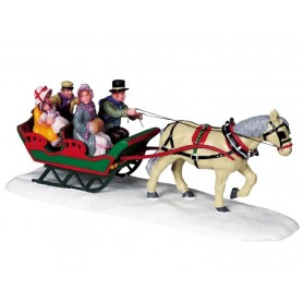 LEMAX FAMILY SLEIGH RIDE
