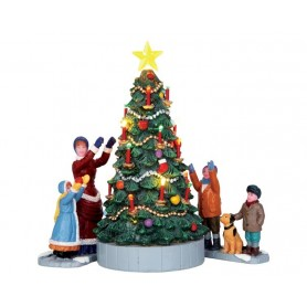 LEMAX THE VILLAGE TREE, SET OF 3 44754
