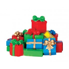 LEMAX STACK OF PRESENTS