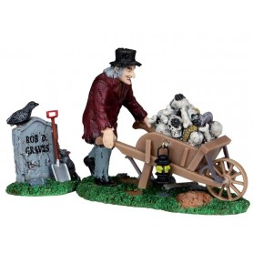 LEMAX GRAVE ROBBER, SET OF 2