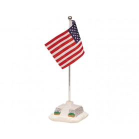 LEMAX AMERICAN FLAG POLE