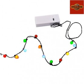 LUVILLE CHINESE LANTERN LIGHT CHAIN MULTICOLOUR