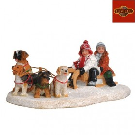 LUVILLE DOG SLEDGE
