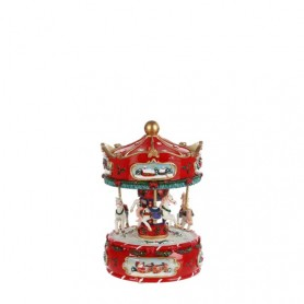 LUVILLE MERRY-GO-ROUND H16D16 RED