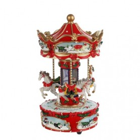 LUVILLE MERRY-GO-ROUND H23D19 RED