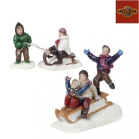 LUVILLE THE SLEDGE PARADE SET OF 3