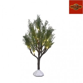 LUVILLE TREE WITH WARM WHITE LIGHT