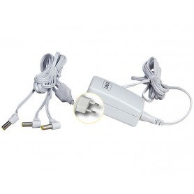 LEMAX POWER ADAPTOR 4.5V, WHITE, 3-OUTPUT