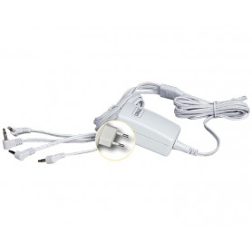 LEMAX POWER ADAPTOR 3V, WHITE, 4-OUTPUT