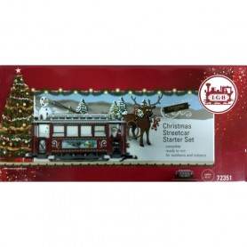 MARKLIN LGB CHRISTMAS STREET CAR STARTER SET