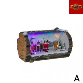 LUVILLE WINTER SCENE TRUNK A