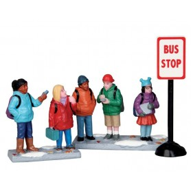 LEMAX BUS STOP, SET OF 3