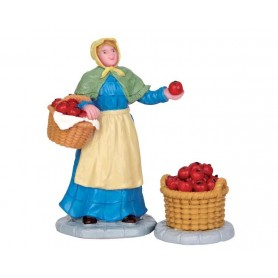 LEMAX APPLE VENDOR, SET OF 2