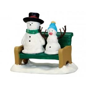 LEMAX SNOWDAD & SNOWBABY