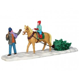 LEMAX CHRISTMAS ON HORSEBACK
