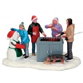 LEMAX SNOWY BBQ