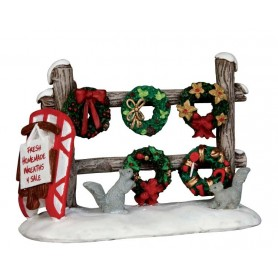 LEMAX CHRISTMAS WREATHS 4 SALE