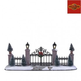 LUVILLE LIGHTED GATE & FENCE