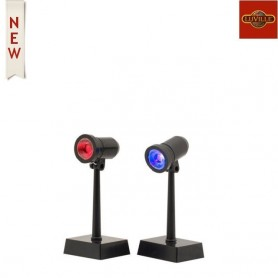 LUVILLE SPOT LIGHTS MULTICOLOUR SET OF 2