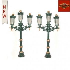 LUVILLE BOULEVARD STREET LAMP SET OF 2