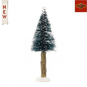 LUVILLE BRISTLE TREE ON LOG GREEN H11XD3,5