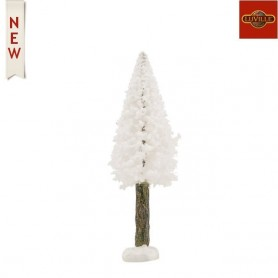 LUVILLE BRISTLE TREE ON LOG WHITE H11XD3,5