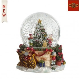 LUVILLE WATERGLOBE CHRISTMAS TREE WITH PRESENTS