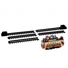LEMAX SANTA'S CABLE CAR 54960
