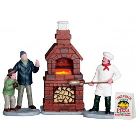 LEMAX OUTDOOR PIZZA OVEN, SET OF 4
