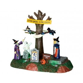 LEMAX LITTLE GHOULS FLYING SCHOOL