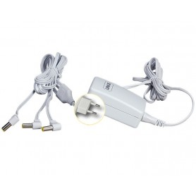LEMAX POWER ADAPTOR 4.5V WHITE 3-OUTPUT FIXED PLUG GS