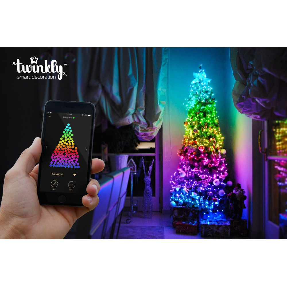 best authentic 49a01 6da33 310225 TWINKLY STRINGS 225 LUCI LED WI-FI PLUG EU twinkly ...