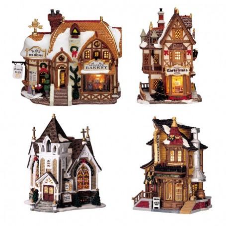 LEMAX DEVANEY'S BAKERY + LUCY'S CHOCOLATE + TANNENBAUM CHRISTMAS SHOPPE