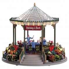 LEMAX HOLIDAY GARDEN GREEN BANDSTAND 94551