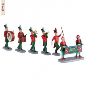 LEMAX CHRISTMAS ON PARADE, SET OF 6 03515
