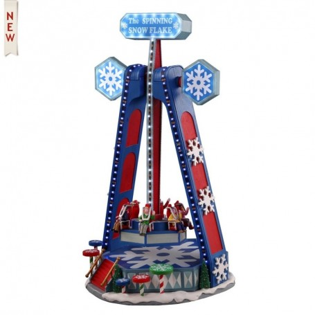 LEMAX THE SPINNING SNOWFLAKE 04737