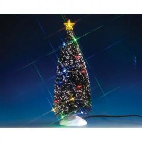 LEMAX EVERGREEN TREE WITH 24 MULTI LIGHT 74263
