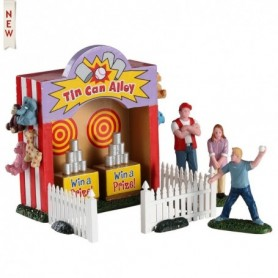 LEMAX TIN CAN ALLEY, SET OF 7 93429