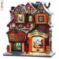 LEMAX DASHER'S ADVENT STABLE 95569
