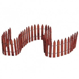 """LEMAX 18"""" WIRED WOODEN FENCE 84813"""