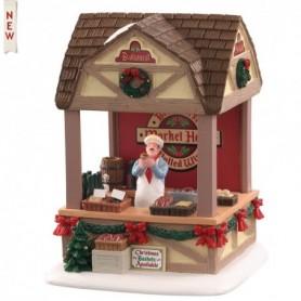 LEMAX CHRISTMAS MARKET BRATWURST, B/O (3V) 04735