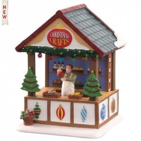 LEMAX HAND CRAFTED ORNAMENTS, B/O (3V) 04742