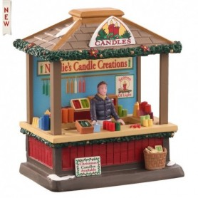 LEMAX CHRISTMAS CANDLES, B/O (3V) 04759