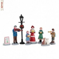 LEMAX BAILY'S MUSIC SCHOOL CAROLERS, SET OF 8 02949